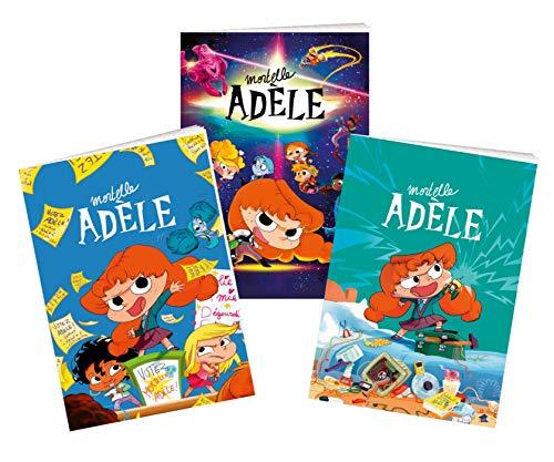 Lot de 3 cahiers Mortelle Adèle - Rentrée 2021