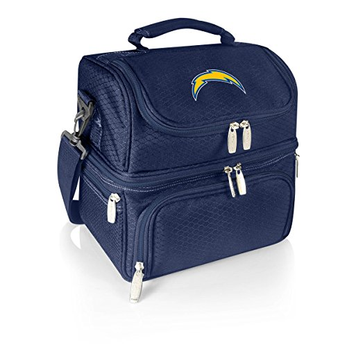 NFL Los Angeles Chargers Pranzo Insulated Lunch Tote, Navy