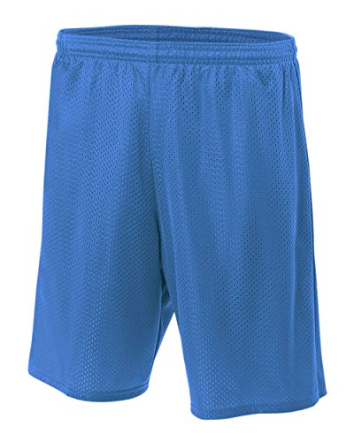 """A4 7"""" Lined Tricot Mesh Short"""