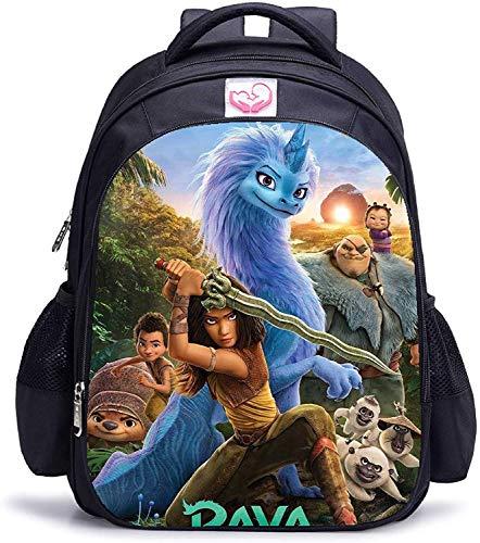 R-aya y la última mochila escolar de dragón para niños (6,16 pulgadas)