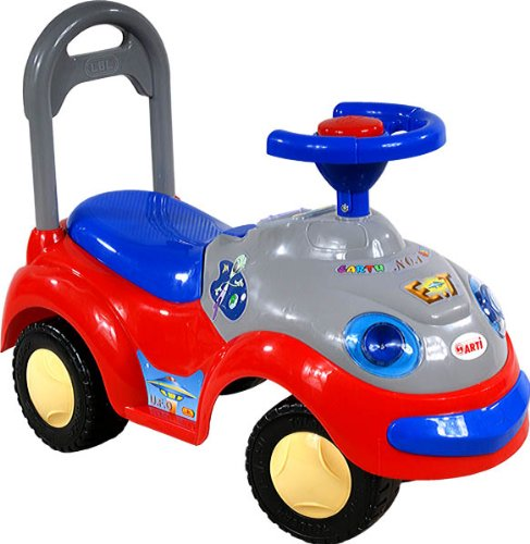 ARTI Jouets ? Tirer Trotteur Porteur 2109BY Garbus Classic Red Ride-on Activity Toy Baby Car