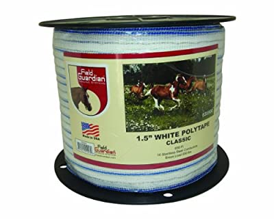 Field Guardian Classic Polytape, 1.5-Inch, White