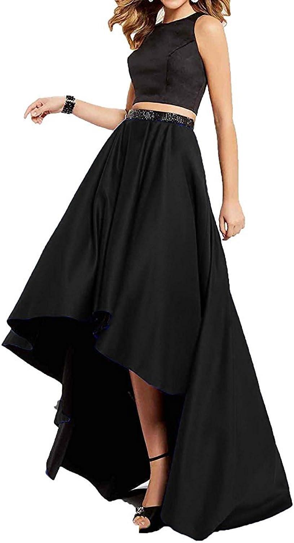 Tutu.Vivi Women's Two Pieces Halter Prom Party Dresses Long Ball Gown Formal Dress