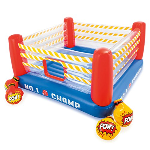 Sale!! Intex Jump-O-Lene Boxing Ring Inflatable Bouncer, 89 X 89 X 43.5, for Ages 5-7