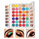 Beauty Glazed Eyeshadow Palette Highly Pigmented Makeup Palettes 63 Colors Shimmer and Matte Cosmetics Professional Makeup Palettes Cream Powder Great for Beginners