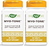 Nature's Way Myo-Tone Supports Healthy Muscles, Tendons and Ligaments, 80 Tablets, Pack of 2 (Packaging May Vary)