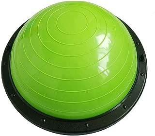 GLJJQMY Yoga Hemisphere Ball Balance Ball Pola Pilates Fitness Equipment Thickened Anti-Explosion Ball Massage Balance Ball (Color : D)