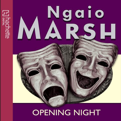 Opening Night audiobook cover art