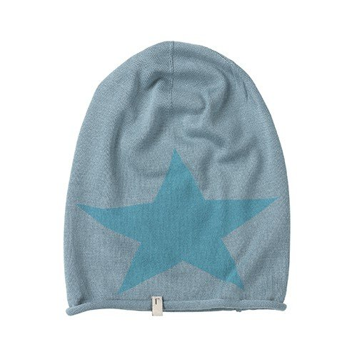 Freaky Heads Beanie-Feinstrick Big Star Bonnet, Multicolore-Mehrfarbig (Petrol/Hawaiian Ocean 1314), Taille Unique Mixte