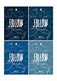 K-POP Monsta X - Follow-Find You, All Versions SET Album incl. CD, Photocard, Photobook, Lyrics Book, Mini Poster, Pre-Order Benefit, Folded Poster, Extra Photocards Set
