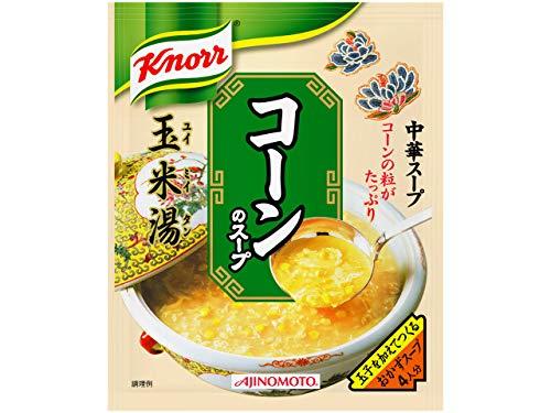 味の素『クノール 中華スープ コーンのスープ』