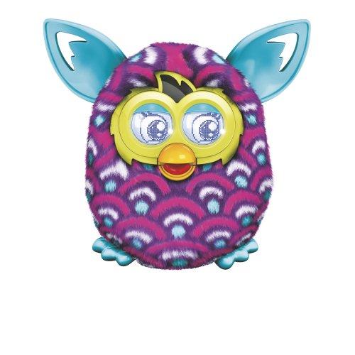 Furby Boom Purple Waves Plush Toy by Furby