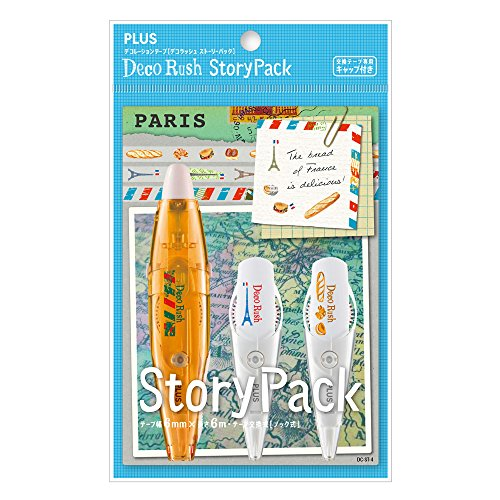 Plus Japan 47152Décoration Ruban en forme de stylo, Kit avec 3motifs
