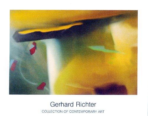 Kunstdruck / Poster Gerhard Richter - Abstraktes Bild - 90 x 70cm - Premiumqualität - , Abstrakte Malerei, modern, zeitgenössisch, Farbflächen, abstrakte Muster, Ornamente, Bî. - MADE IN GERMANY - ART-GALERIE-SHOPde
