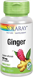 Solaray - Ginger Root 550 Mg. 100 Capsules 68700