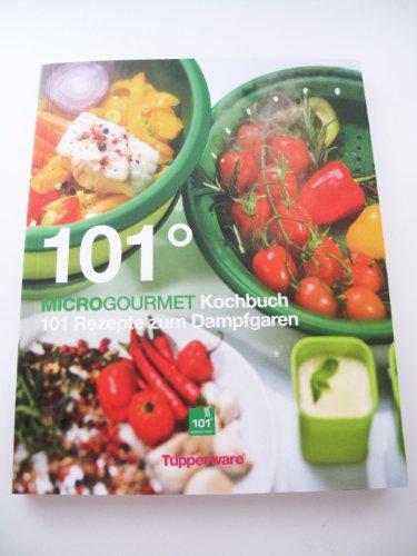 TUPPERWARE Mikrowelle Kochbuch grün 101° Microgourmet Rezepte Mikro Dampfgarer P 18475