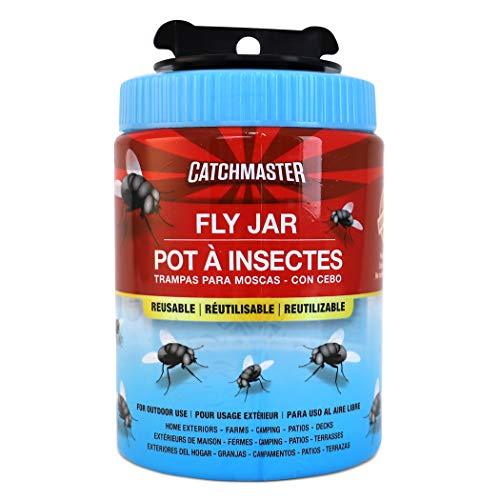 Catchmaster Outdoor Reusable Fly Trap - Non Toxic...