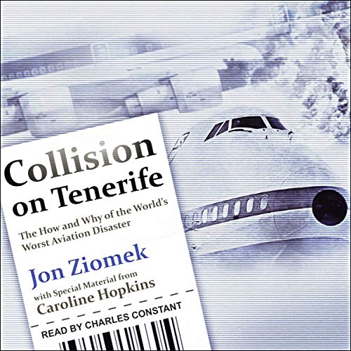 Collision on Tenerife cover art