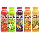 OKF Smoothie, Multi-Vitamin Premium Drink, 16.9 Fluid Ounce (5 Flavor Variety Pack, 10 Pack)