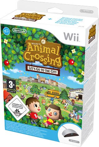 NINTENDO GIOCO WII ANIMAL CROSSING LET S GO TO THE CITY+SPE