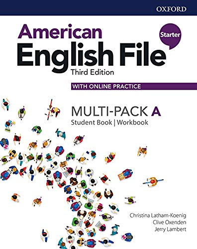 American English File: Starter: Student Book/Workbook Multi-Pack A with Online Practice