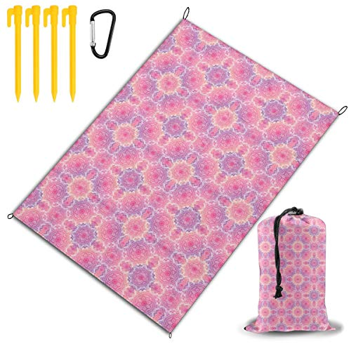Why Choose MWM Bohemian Art Beach Blanket Large Outdoor Picnic Blanket 57x80, Picnic Mat, Camping ...