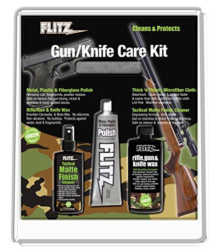 Flitz Mixed Cuchillo y Pistola Kit de Cuidado