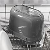 Addis Komposteimer für die Küche, 2,5 l, Weiß/Grün, weiß/grün, 2.5L - 5