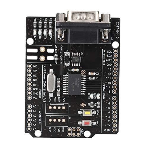 Uxsiya 1 MBit/s Kontaktstift HW-A001 MCP2515 Erweiterungskarte mit starker Leistung Hohe Zuverlässigkeit Für das CAN2.0-Protokoll