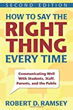 how to say the right thing