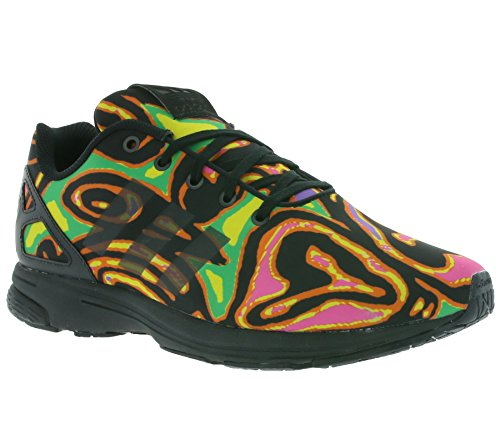 adidas - ZX Flux Tech Psychedelic Shoes - Multicolor - 42 2/3