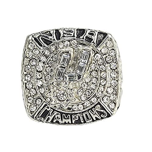 CLCL 2007 Baloncesto San Antonio Spurs Campeonato Anillo de Campeonato, Réplica de Ring Champions para los fanáticos El Regalo de la colección de Hombres, Regalos para Mujeres para niños