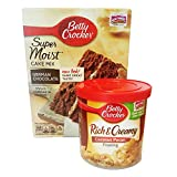 Betty Crocker Butter German Chocolate Cake Mix and Betty Crocker Coconut Pecan Frosting Bundle