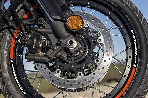 Kit mit Klebestreifen für Suzuki V-Strom 1050 Motorradfelgen