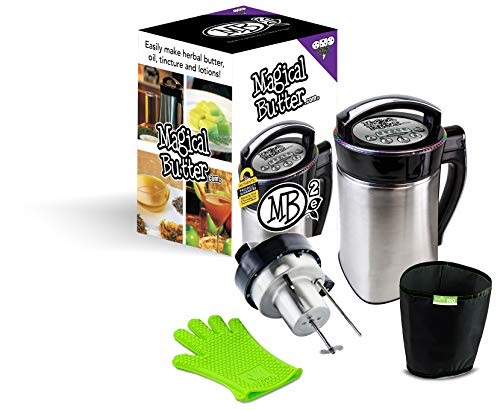 Magical Butter MB2E Botanik Extractor Maschine mit Universelles Netzkabel UK und EU