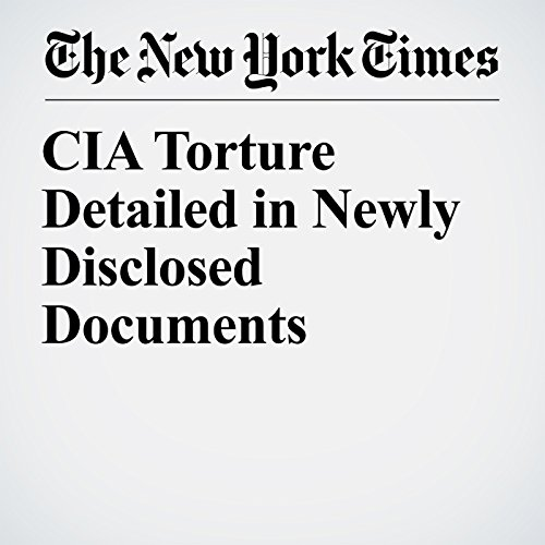 CIA Torture Detailed in Newly Disclosed Documents copertina