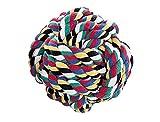 Nobby Rope Toy, Ball bunt Ø 10,0 cm; 280 g