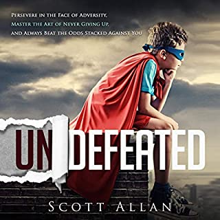 Undefeated audiobook cover art
