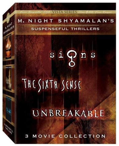M. Night Shyamalan Vista Series Collection (The Sixth Sense/Signs/Unbreakable)