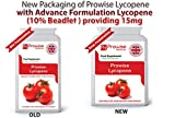 LICOPENO 15mg 90 cápsulas, Calidad garantizada GMP fabricada en el Reino Unido, adecuada para vegetarianos y veganos Por Prowise Healthcare