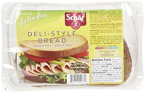Schar Raincoast Bread Deli Style (6x8.5Oz )
