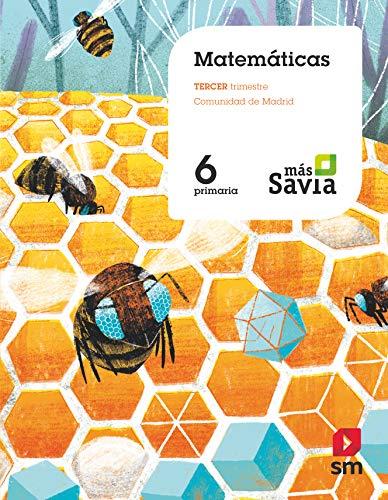 Matemáticas. 6 Primaria. Mas Savia. Madrid