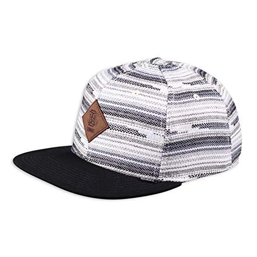Djinns - Crazy Pattern Indo Mat (Black/Grey) - Snapback Cap Baseballcap Hat Kappe Mütze Caps