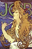 Alphonse Mucha Job Cigarette Paper Alphonse Mucha Art Nouveau Art Prints Mucha Print Art Nouveau Decor Vintage Advertisements Art Poster Ornamental Design Mucha Cool Wall Decor Art Print Poster 24x36