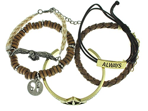 Harry Potter 5 Piece Arm Party Bracelet Set