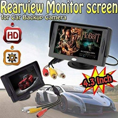 BW 4.3 Inch LCD TFT Rearview Monitor Screen for Car Backup Camera