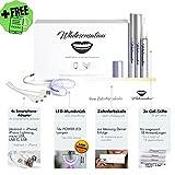 Bleaching-Set mit 3 Bleaching-Stiften und einem LED-Mundstück von Whitesensation©