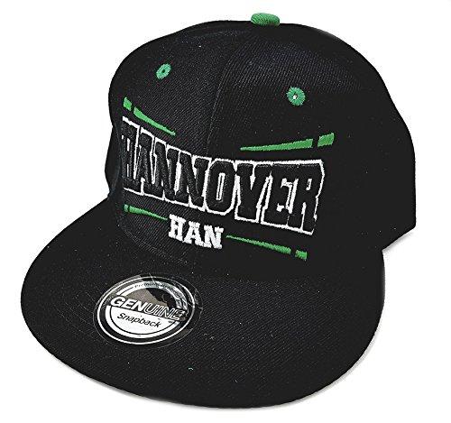 Snapback Fussball Bundesliga Fan Sports Caps Basecap Hannover HAN schwarz