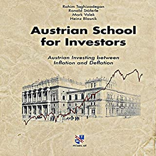 Austrian School for Investors: Austrian Investing between Inflation and Deflation audiobook cover art