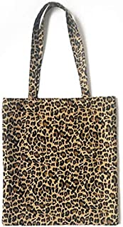 BBGSFDC Mujeres Bolsa de Hombro Bolsa Messenger Girls Leopard Print Hobo Purse Satchel Tote Bolso